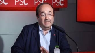 Iceta rechaza la moción de censura contra Puigdemont: La única salida son elecciones anticipadas