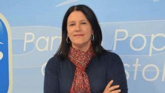 Mirina Cortés, candidata del PP a la Alcaldía en los comicios de mayo