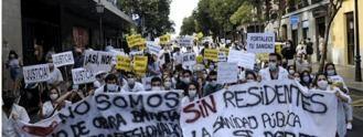 La rebelión de los MIR: En huelga por un convenio que acabe con su 'sobreexplotación'