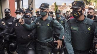 16 detenidos, algunos menores, por incidentes en el mitin de Vox en Navalcarnero