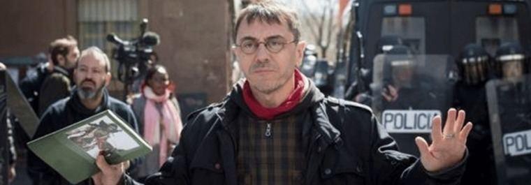 Monedero entra en la batalla de Podemos Madrid y carga contra Maestre