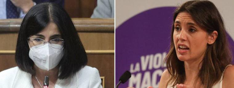 La regulación del aborto enfrenta a Montero y Darías: Casi la totalidad de hospitales de la región son objetores