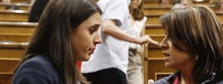 Lastra (PSOE): Con Iglesias no, con Montero sí