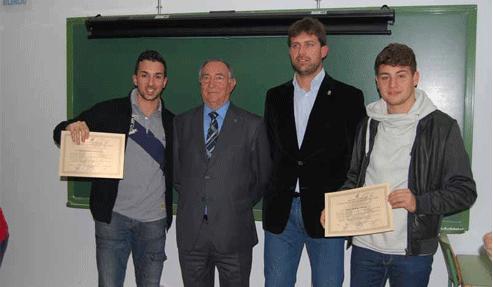 Entrega de diplomas del Curso de Monitor de Fútbol Base