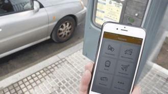 Suprimido el recargo del 10% por usar la app para aparcar en zona azul