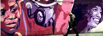 Cs se desmarca y vota a favor de mantener el mural feminista