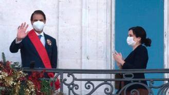 Nadal recibe la Gran Cruz del Dos de Mayo: 'Me siento muy cercano a Madrid'