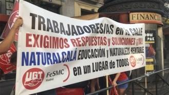 UGT denuncia la situación de los trabajadores de Naturalcalá por 'negligencia' de la Comunidad