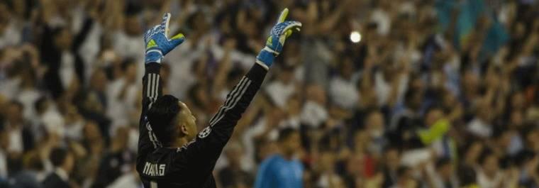 Navas: Dios hizo que se quedar� en el Madrid