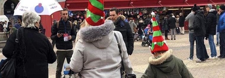 10.000 pulseras para evitar la pérdida de niños en el Centro en Navidad