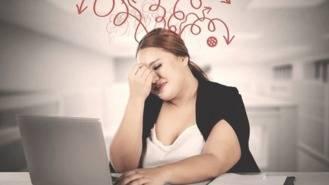 El estrés aumenta el riesgo de padecer obesidad en las mujeres