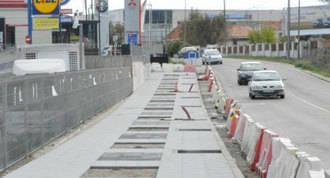 Finaliza la 1ª fase de la remodelación de la carretera de Fuenlabrada