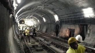 Acuerdo para retrasar las obras de la línea 1 de Metro hasta mediados de junio