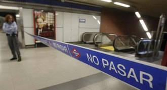 Las obras en la L-7B del Metro pararán por las noches por el ruido
