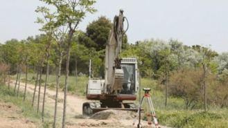Arrancan las obras de mejora del parque de La Alhóndiga por 350.000 €