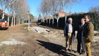 Renovación de aceras y alumbrado en Villafranca del Castillo y La Mocha