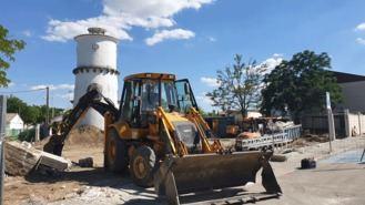 El Ayuntamiento inicia la construcción de un aparcamiento en la calle Velázquez