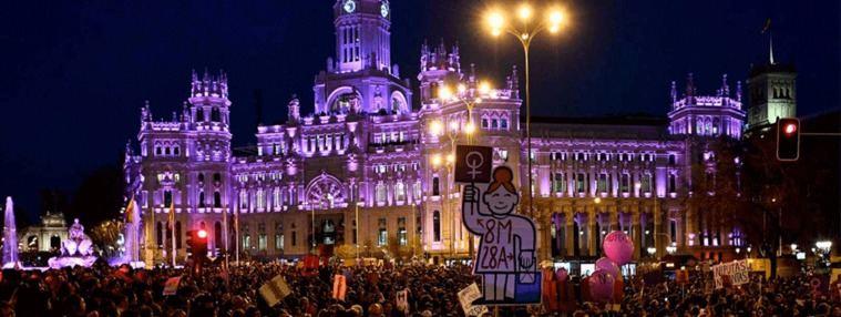 Vox impide en Madrid una declaración institucional por el 8M