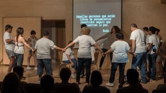 Los participantes del Programa Ocio Inclusivo emocionan con su actuación