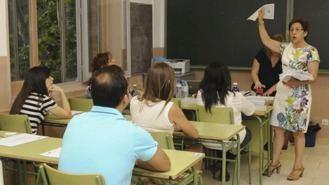 Un millar de opositores a Maestro claman contra el examen de Inglé. Piden un peritaje externo