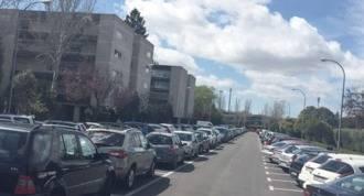 La zona ORA en Virgen de Iciar limita el nº de coches de talleres
