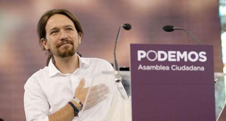 """Podemos ya tiene lema de campaña, """"2015 Empieza El Cambio"""", slogan antes utilizado por PP y PSOE"""