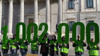 PAH, primera 'campaña de presión' al Gobierno PSOE y UP, al que culpa de 8.000 desalojos