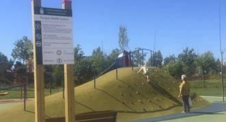 Abierto el parque `Adolfo Suárez´, el más grande y equipado de la localidad