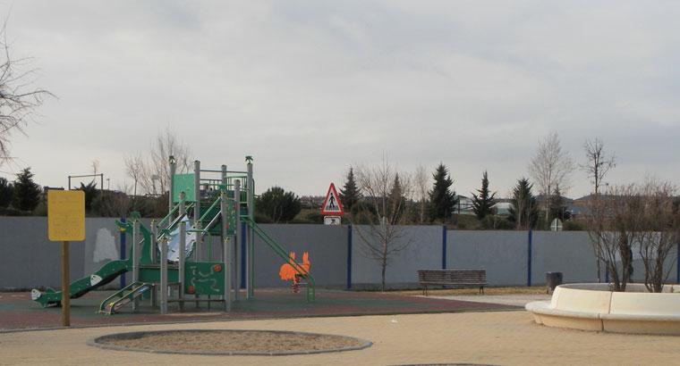 Una pantalla vegetal de 220 m. separará el parque Goya y la M-503