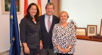 Partida se reune con la nueva presidenta de la delegación de la AECC