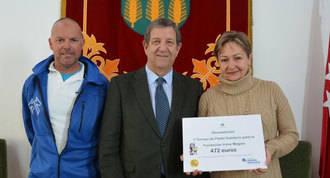 472 € para la Fundación Irene Megías del Torneo de Pádel Solidario