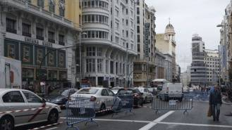 Las obras para la peatonalización parcial de Gran Vía arrancarán en enero de 2018