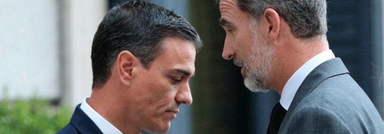 La fortaleza que deben demoler Felipe VI y Pedro Sánchez