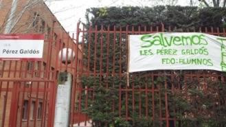 CC.OO denuncia ante el DAT de Madrid Capital el cierre del Pérez Galdos sin negociación