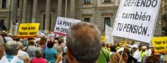 Miles de pensionistas claman ante el Congreso por el blindaje de las pensiones