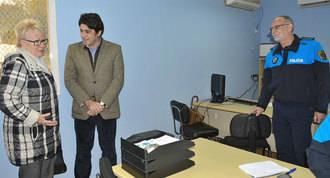 Inaugurada la 1ª oficina de la policiía municipal en los barrios