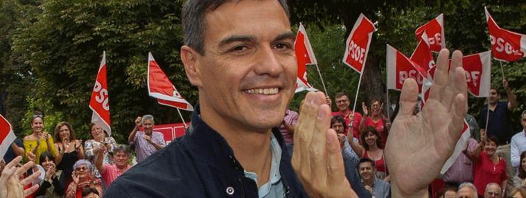 El CIS da récord en intención de voto al PSOE, un 33,3% frente al 16,7% del PP