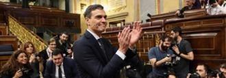 Pedro Sánchez prepara su primer Gobierno para ir a ver al Rey