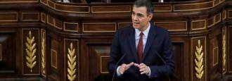 Siete horas con Sánchez y su palabra favorita: abstención