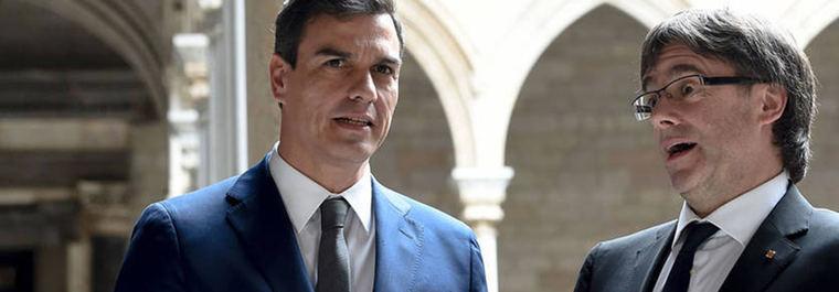Sánchez pide a Puigdemont que se 'someta' a la Justicia