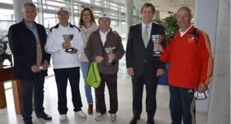 El equipo de petanca de Villanueva se alza con el primer premio