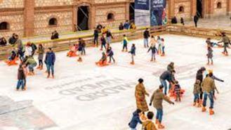 La pista de hielo de Matadero estará operativa hasta el 10 de enero