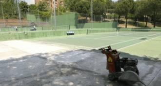 60.000 € para remodelar las pistas de tenis de Foresta y Embarcaciones