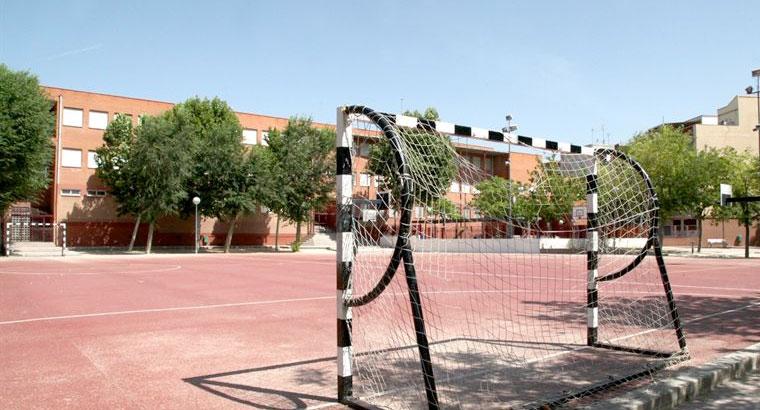 Vigilancia policial para las pistas del Parque de Cataluña