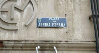 El PSOE reclama cambiar el nombre a la plaza `Arriba España´