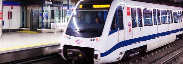 La línea 9 de Metro, cerrada del 1 al 31 de agosto entre Colombia y Plaza Castilla