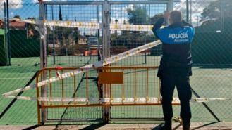 La Policía cierra los recintos deportivos al aire libre, denunciará a quien no lo respete