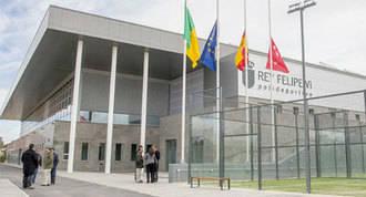 Inaugurado el pabellón deportivo Rey Felipe VI en Viñas Viejas