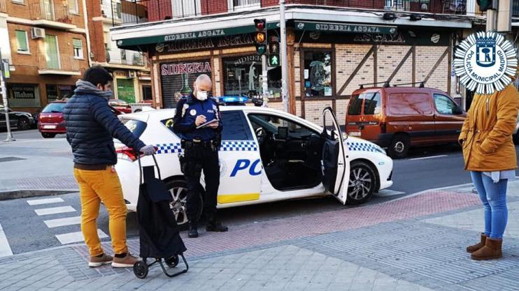 Las multas de la policía por incumplir el estado de alarma superan las 10.000