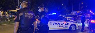 La policía toma la Complutense: Más Municipales y 150 Nacionales